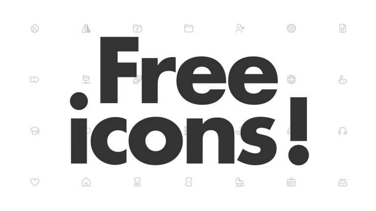 Free Icons for Your Websites