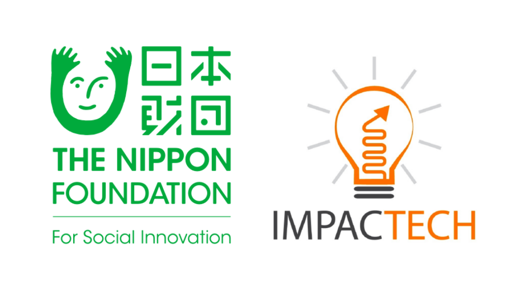 The Nippon Foundation and ImpacTech logos