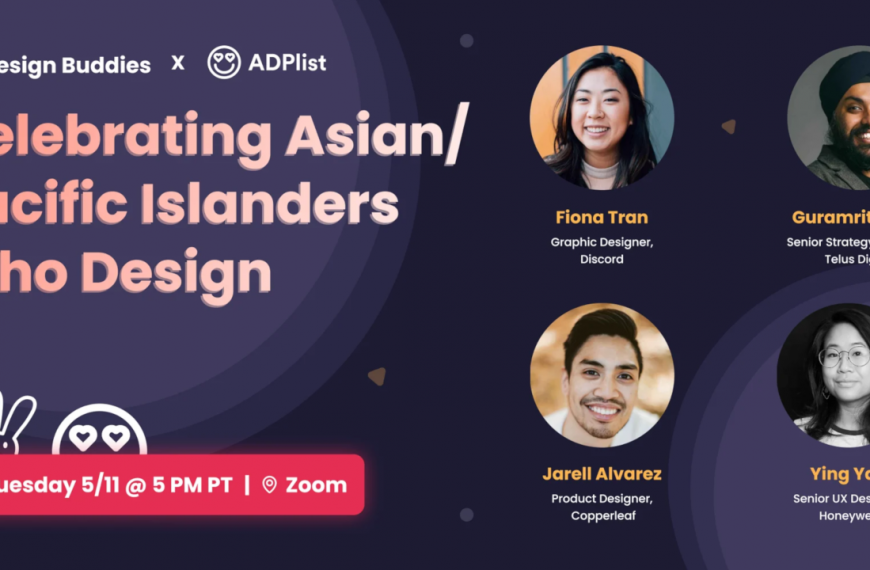 Celebrating Asian/Pacific Islanders in Design