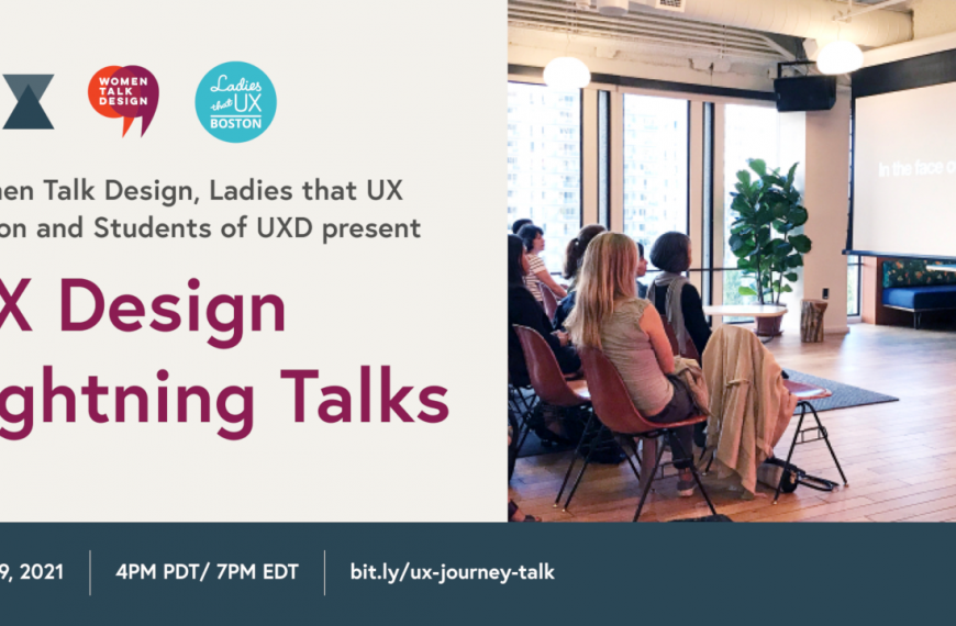 Lightning Talks: My UX Journey