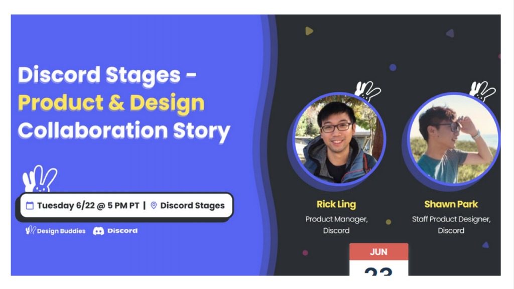 Discord Stages - Product & Design Collaboration Story banner