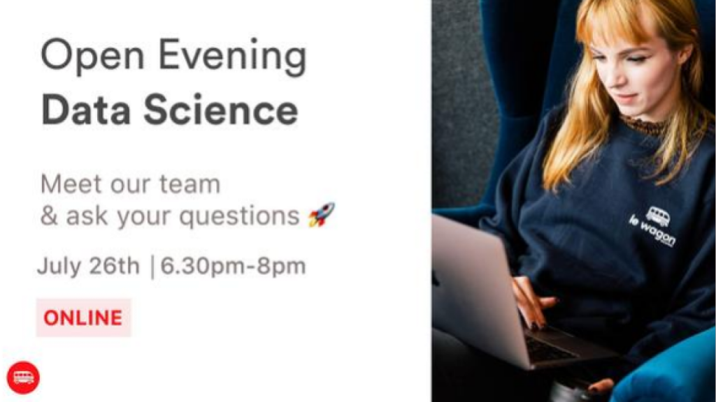 Open Evening_ Discover our Data Science Bootcamp banner photo
