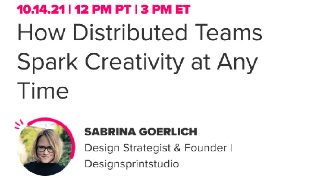 How Distributed Teams Spark Creativity at Any Time banner photo