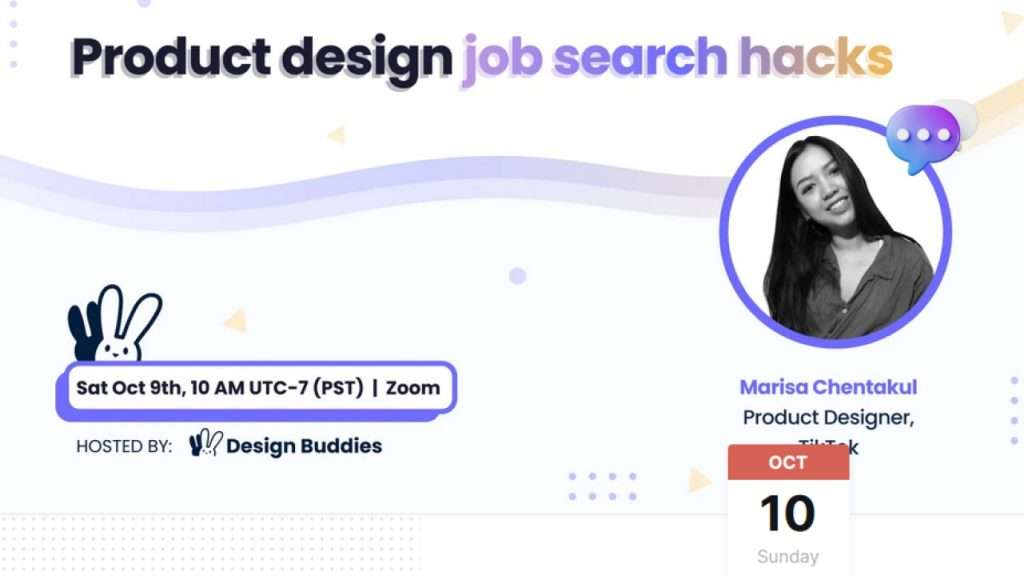 Product design job search hack banner photo